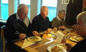 Karl-Erik, Rolf, Maj och Siv