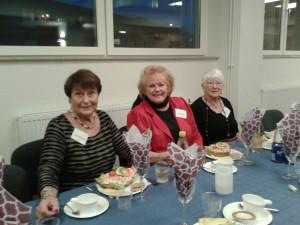 Yvonne, Birgitta och Monika