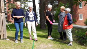 Christina, Maud H, Mimmi, Inger B och Gertrud