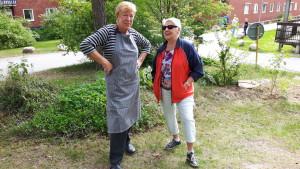 Inger B och Gertrud