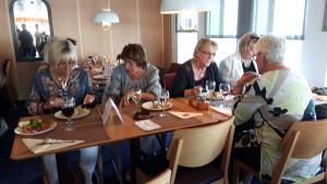 Maj H, Stina, Birgitta R, Birgitta A och Mimmi