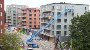2016-09-15 Hus 1, 2 och 3 - 23, 22 resp. 26 lägenheter