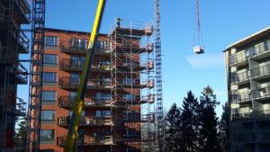 2017-02-24 Transport från taket på höga hus 4