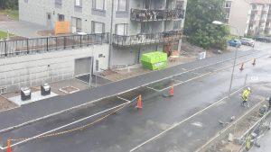 2017-08-31 Annebodavägen asfalterad