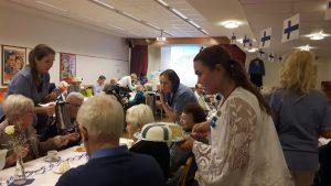 2017-12-06 Finland 100 år - Blomsterfonden firar i Liseberg
