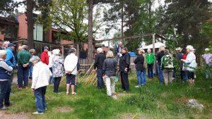 2018-05-17 Vårstädning - Rune Informerar om redskap och återsamling mm.
