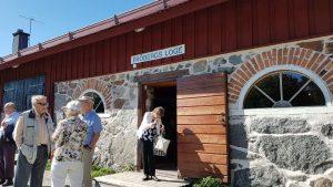 2018-08-21 Fröbergs loge på Gålö - Kaffepaus