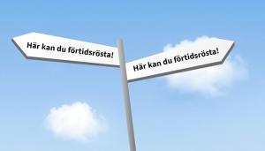 2018-08-27 Idag dags för förtidsröstning i Blomstergården Liseberg.